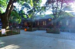 Templo de Puji no amanhecer imagens de stock royalty free