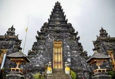 Templo de Pura Besakih en Bali Fotografía de archivo libre de regalías