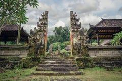 Templo de Pura Luhur Batukau Batukaru Hindu fotos de archivo