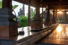 Templo de Pura Rambut Siwi Fotos de Stock