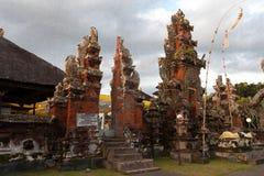 Templo de Pura Rambut Siwi Foto de Stock