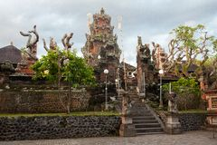 Templo de Pura Rambut Siwi Fotografia de Stock Royalty Free