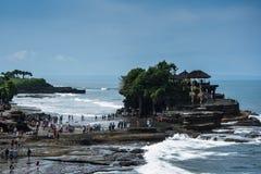 Templo de Pura Tanah Lot en Bali Fotografía de archivo libre de regalías