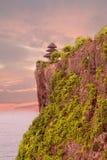 Templo de Pura Uluwatu Foto de Stock
