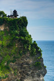 Templo de Pura Uluwatu en Bali Imagenes de archivo