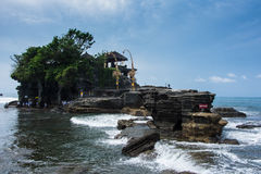 Templo de Pura Uluwatu en Bali Indonesia Foto de archivo