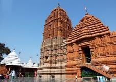 Templo de Puri Jagannath da entrada, Hyderabad Fotografia de Stock