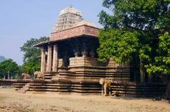 Templo de Ramappa, Palampet, Warangal, Telangana, Índia foto de stock royalty free