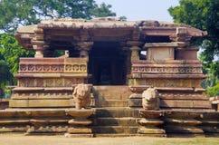 Templo de Ramappa, Palampet, Warangal, Telangana, Índia fotos de stock