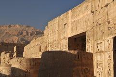 Templo de Rameses III Foto de Stock