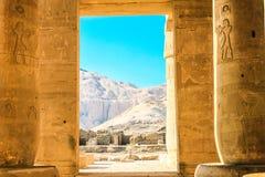 Templo de Ramesseum, Egipto Fotografía de archivo libre de regalías