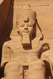 Templo de Ramses Abu Simbel Foto de archivo