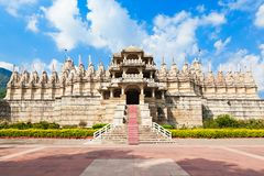 Templo de Ranakpur, Índia foto de stock royalty free