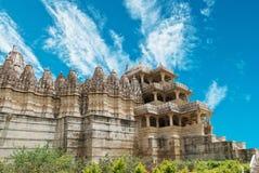 Templo de Ranakpur Fotografia de Stock Royalty Free