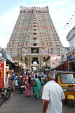 Templo de Ranganathaswamy, Srirangam Foto de archivo