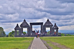 Templo de Ratu Boko Imagem de Stock