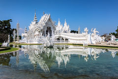 Templo de Rong Khun Fotografia de Stock Royalty Free
