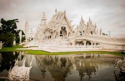 Templo de Rongkhun fotos de stock