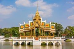 Templo de Royal Palace da dor do golpe - Tailândia Imagens de Stock Royalty Free