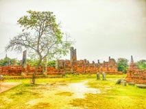 Templo de ruínas Imagens de Stock