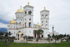 Templo de Saint Jovan Vladimir na barra Foto de Stock