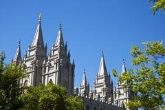 Templo de Salt Lake imagen de archivo