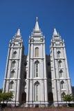 Templo de Salt Lake fotos de archivo libres de regalías