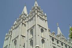 Templo de Salt Lake City Fotografia de Stock