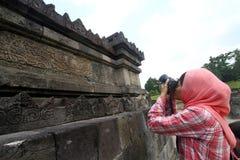 Templo de Sambisari Foto de archivo