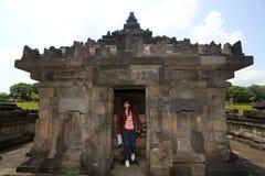 Templo de Sambisari  Imágenes de archivo libres de regalías