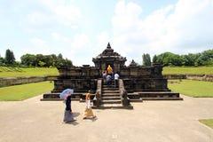 Templo de Sambisari  imagem de stock royalty free