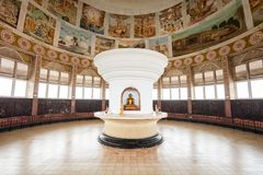 Templo de Sambodhi Chaithya, Colombo fotografia de stock