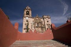 Templo De San Cayetano Mexico Stock Photography