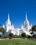 Templo de San Diego LDS Imágenes de archivo libres de regalías