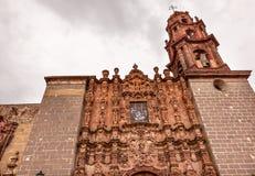 Templo DE San Francisco Church San Miguel de Allende Mexico royalty-vrije stock foto