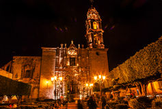 Templo de San Francisco Church San Miguel de Allende Mexico Royalty Free Stock Photo