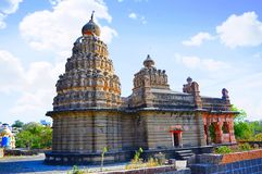 Templo de Sangameshwar cerca de Saswad, Pune, maharashtra foto de archivo