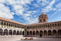Templo de Santo Domingo, Cusco Peru Arkivbilder