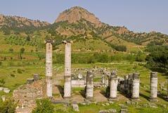 Templo de Sardes Artemis Imagen de archivo libre de regalías