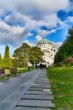 Igreja de Sava de Saint em Belgrado imagens de stock royalty free