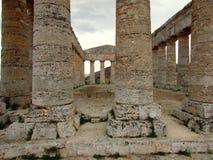 Templo de Segesta Imágenes de archivo libres de regalías
