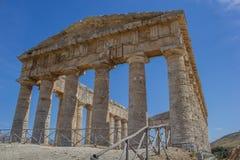 Templo de Segesta Imagenes de archivo