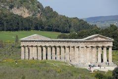 Templo de Segesta Fotografía de archivo libre de regalías