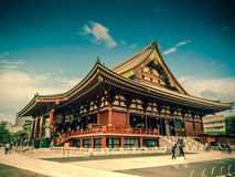 Templo de Senjoji en Asakusa, Tokio Japón Fotos de archivo