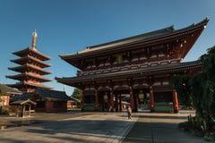 Templo de Senso-ji em Asakusa, Tóquio imagem de stock royalty free