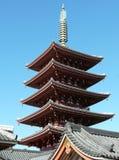 Templo de Senso-Ji en Tokio Imagen de archivo libre de regalías
