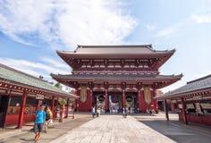 Templo de Senso-ji, Tóquio Imagens de Stock