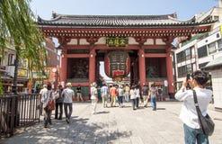 Templo de Senso-ji, Tokyo Foto de Stock