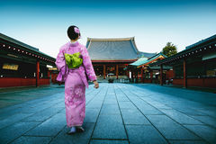 Templo de Sensoji Foto de archivo libre de regalías