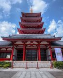 Templo de Sensoji en Tokio imagen de archivo